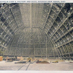 Goodyear-Zeppelin Corp's, Factory and Dock, Interior View, Akron, Ohio