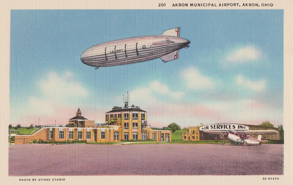 Akron Municipal Airport, Akron, Ohio