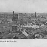 Birds Eye View of East Akron, Ohio