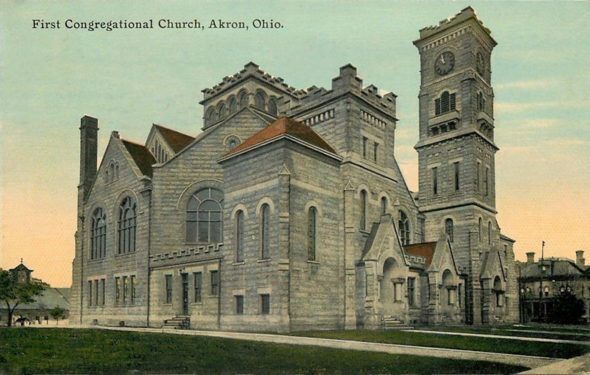 First Congregational Church, Akron, Ohio