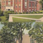 Campus Scene at Akron University, Akron, Ohio