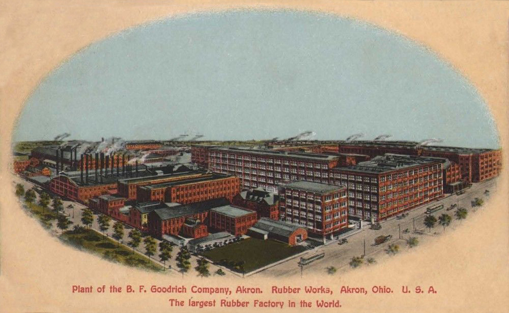 Plant of the B. F. Goodrich Company, Akron.