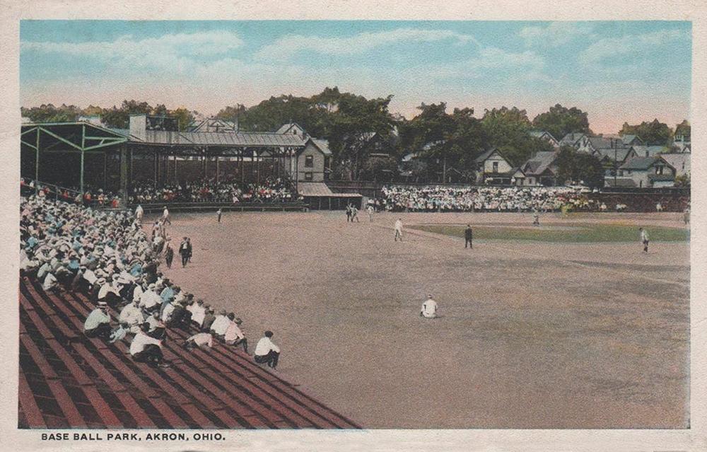 Baseball Park, Akron, Ohio