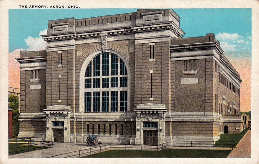 The Armory, Akron, Ohio