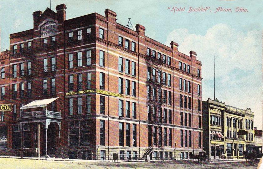 Hotel Buchtel, Akron, Ohio