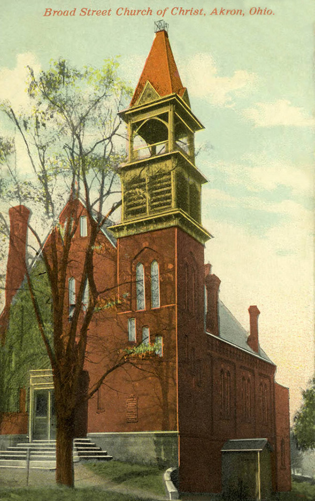 Broad Street Church of Christ, Akron, Ohio
