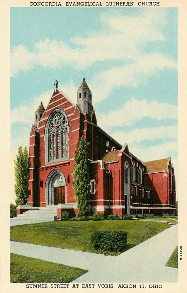 Concordia Evangelical Lutheran Church, Akron, Ohio