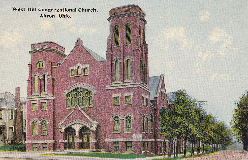 West Hill Congregational Church, Akron, Ohio