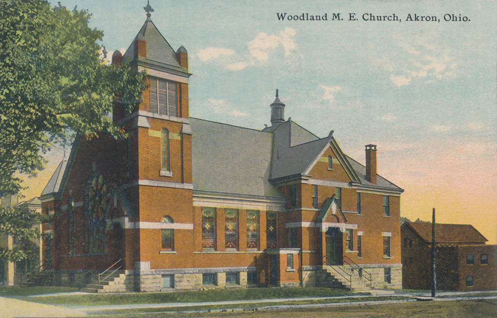 Woodland M.E. Church, Akron, Ohio