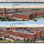 Main Plant, The Goodyear Tire & Rubber Co. Akron, Ohio.