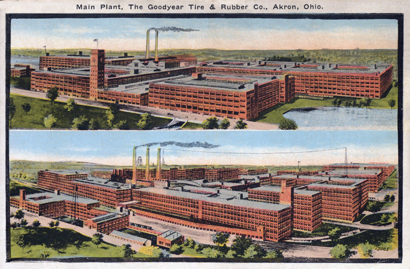 Goodyear Tire Amp Rubber Co Akron