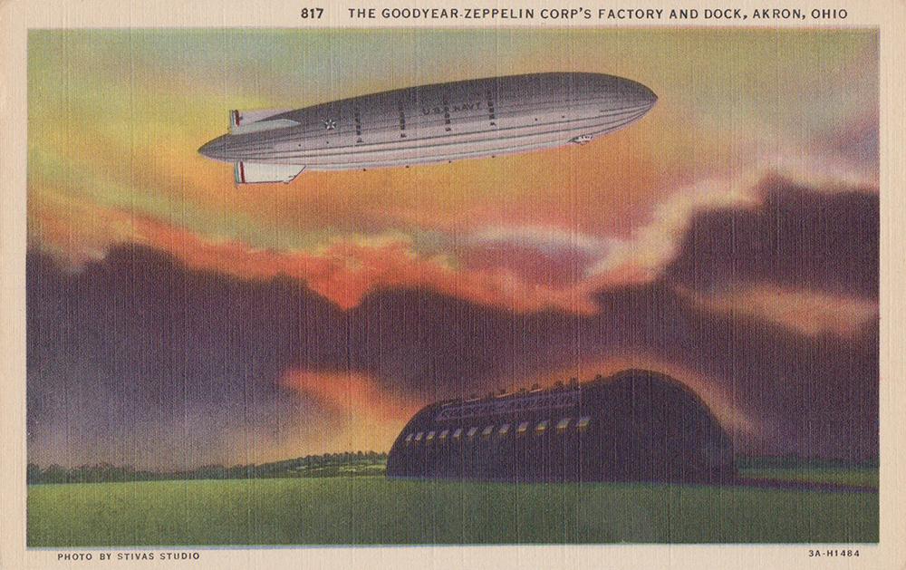 Goodyear Zeppelin Factory, Akron, Ohio