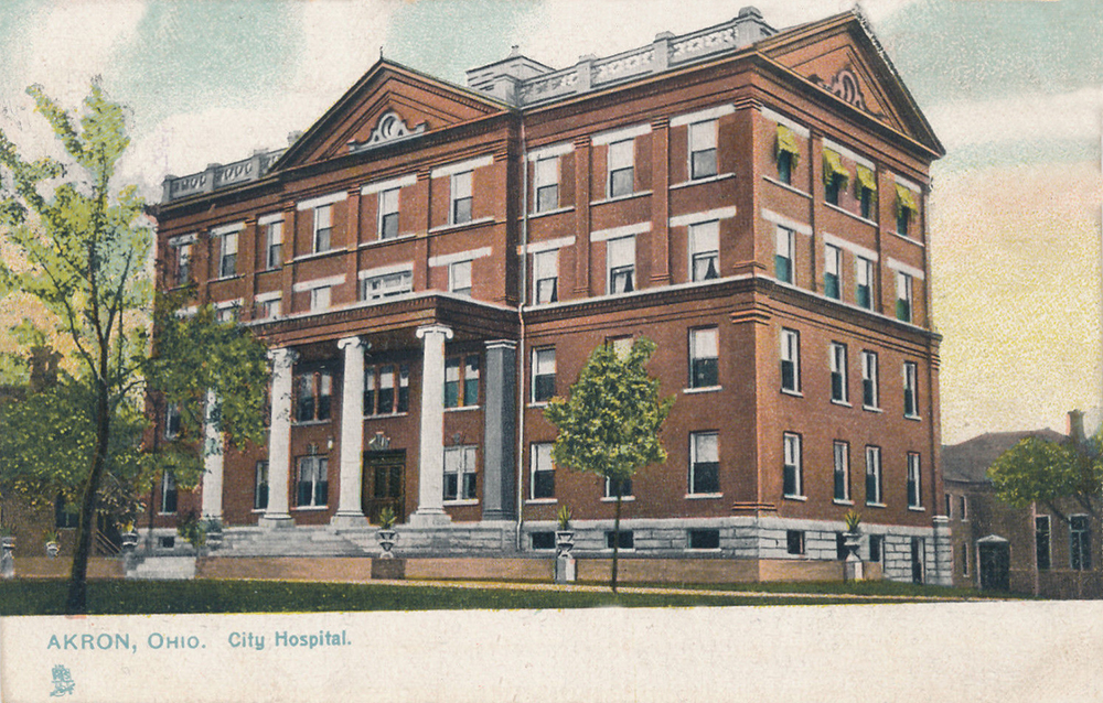 Hospitals Archives - Akron Postcards