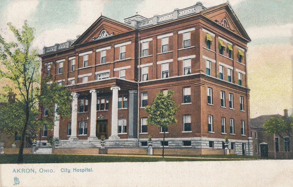 Akron, Ohio City Hospital