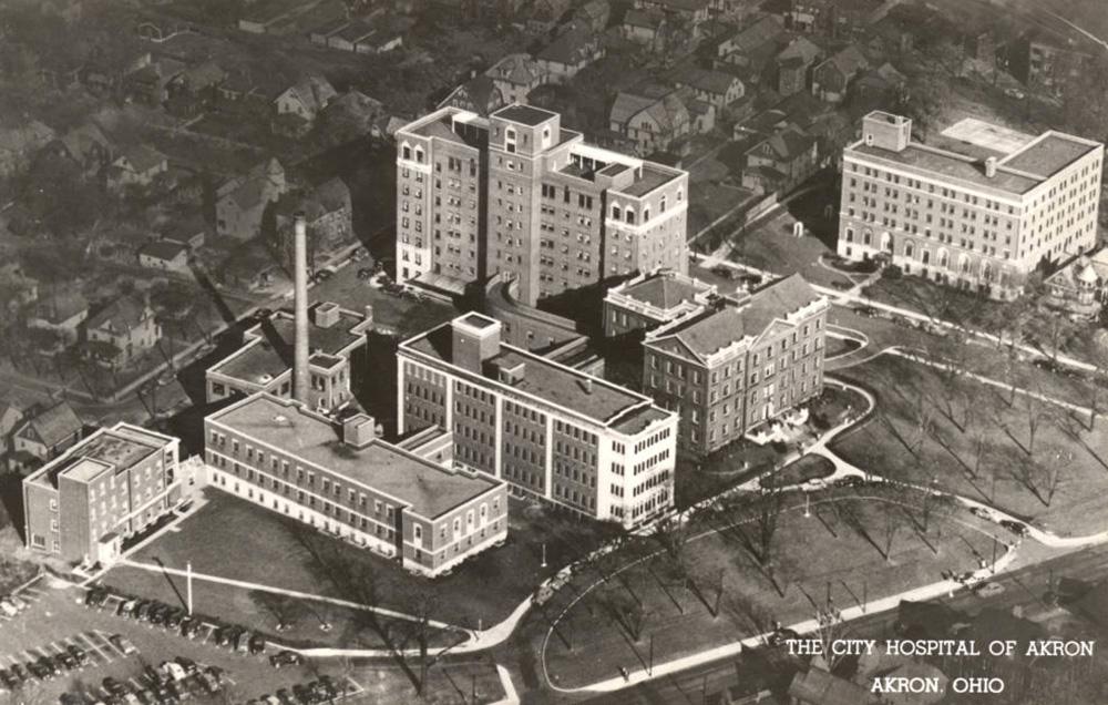 The City Hospital of Akron, Akron, Ohio