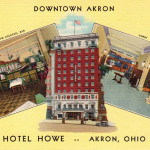 Downtown Hotel Howe, Akron, Ohio
