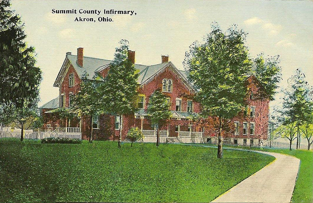 Summit County Infirmary Akron, Ohio