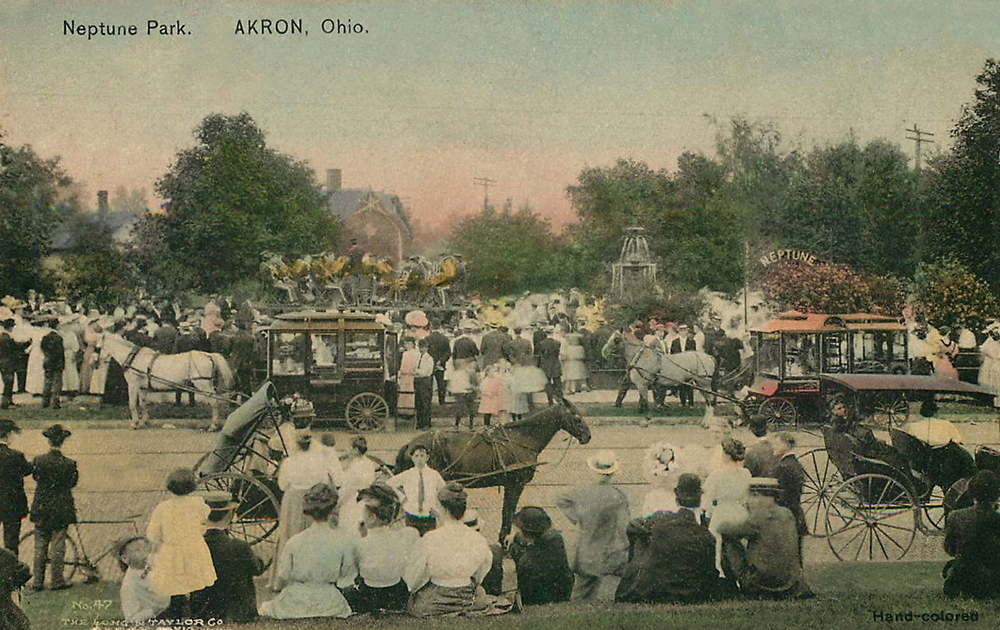 Neptune Park. Akron. Ohio.