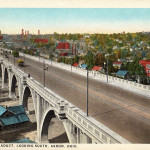 North Hill Viaduct, Akron, Ohio.