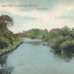 Ohio Canal near Youngs, A Shady Nook