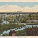 Northern Ohio Railroad Bridge Over Ohio Canal, Akron, Ohio