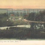 Looking down the Canal, Akron, O.