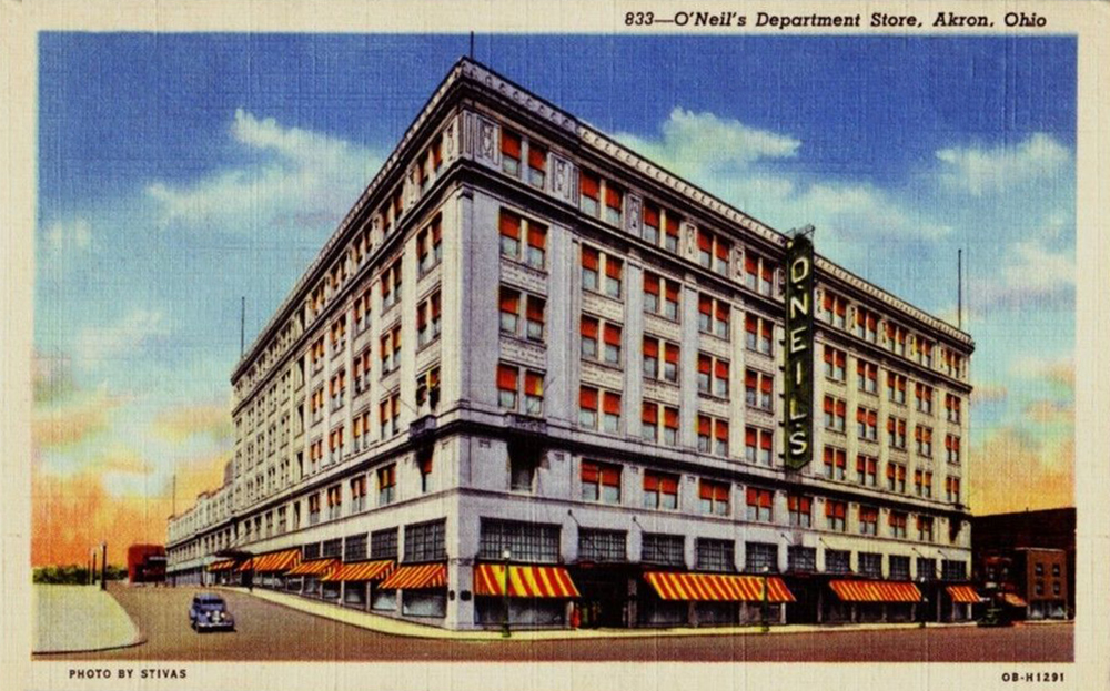 O'Neil's Department Store, Akron, Ohio