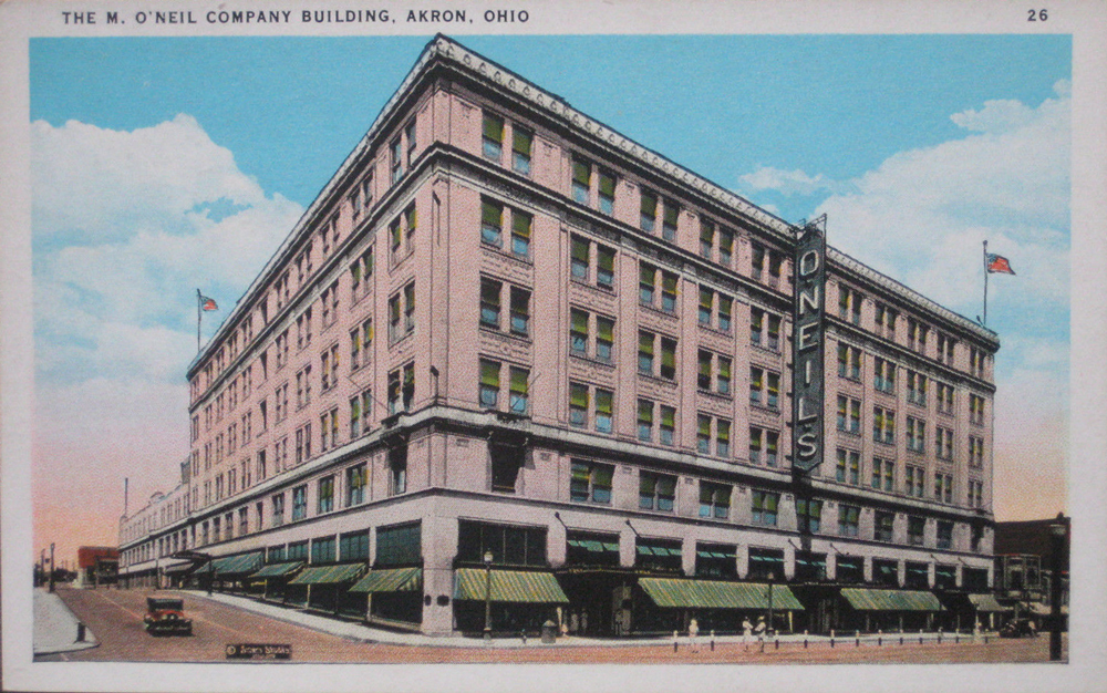 The M. O'Neil Company Building, Akron, Ohio