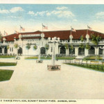 Roller Rink and Dance Pavilion, Summit Beach Park, Akron, Ohio.