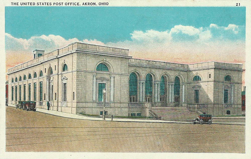 The United States Post Office, Akron, Ohio
