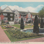 H. S. Firestone Residence and Italian Gardens, Akron, Ohio.