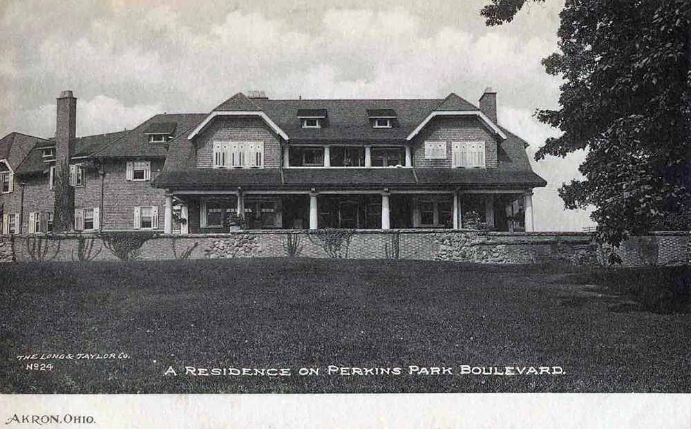 A Residence on Perkins Park Boulevard, Akron, Ohio