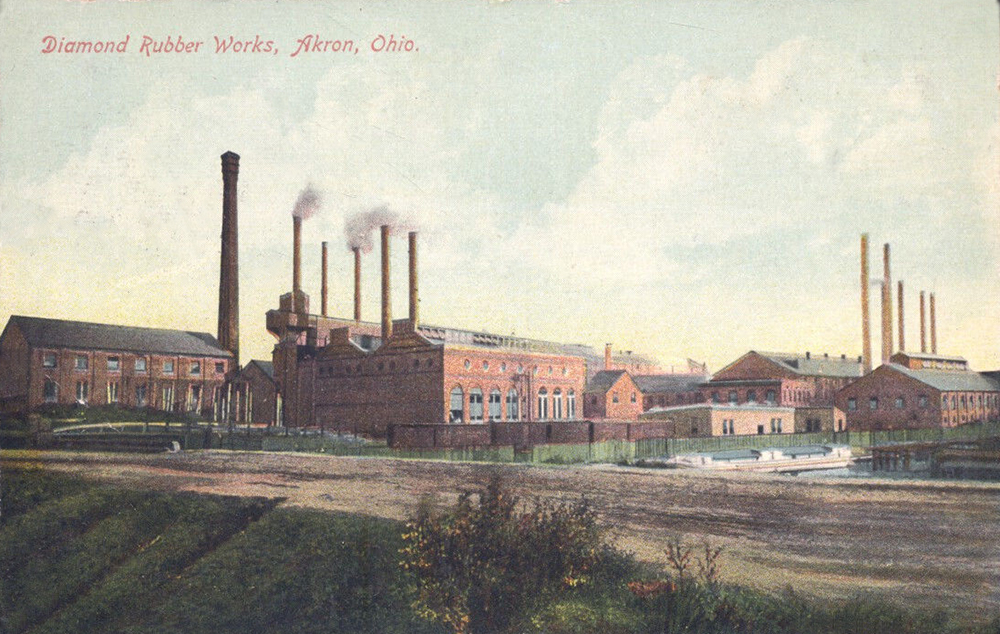 Diamond Rubber Works, Akron, Ohio