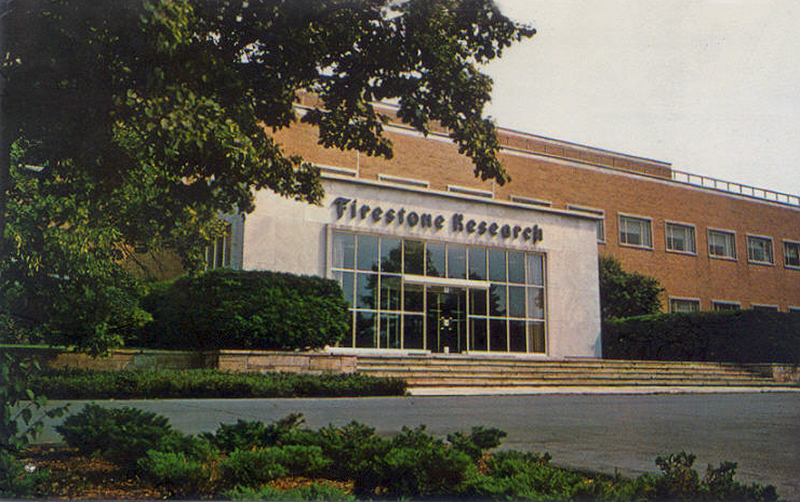 Firestone Research Building, Akron, Ohio