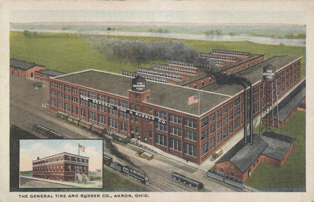 The General Tire and Rubber Co., Akron, Ohio.