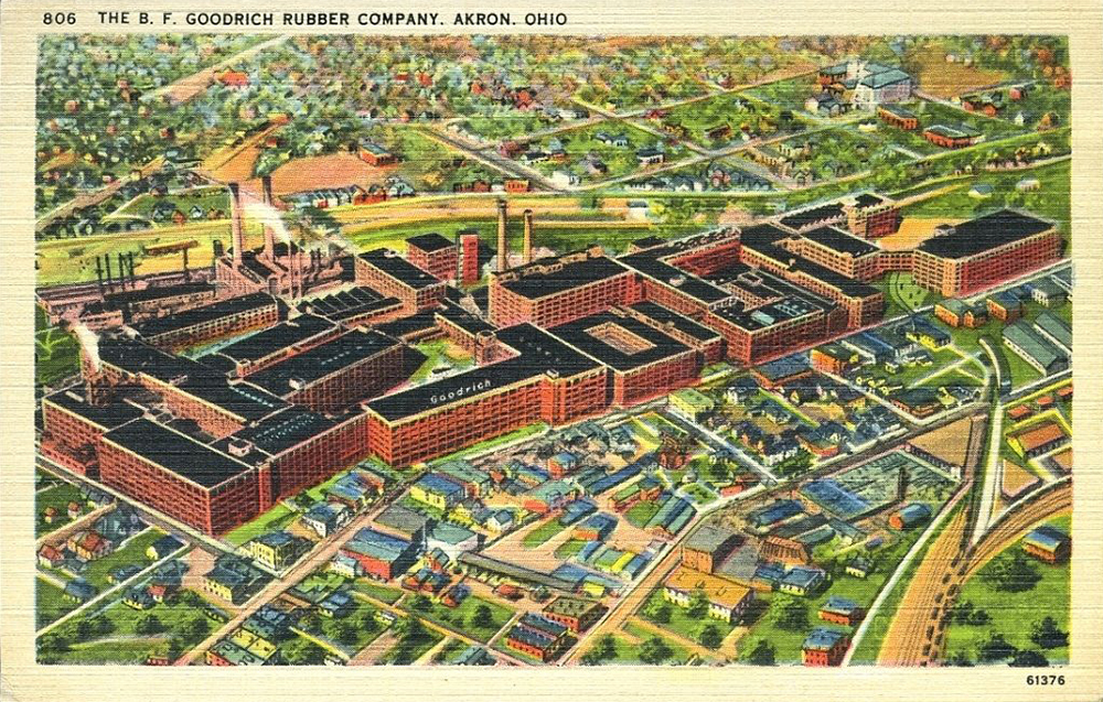 The B. F. Goodrich Rubber Company. Akron, Ohio