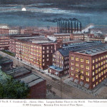 The Factories of The B. F. Goodrich Co., Akron, Ohio. Largest Rubber Plant in the World.