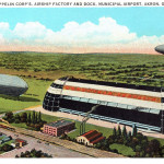 Goodyear Zeppelin Corp's Airship Factory and Dock
