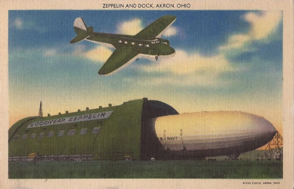 Zeppelin Air Dock, Akron, Ohio