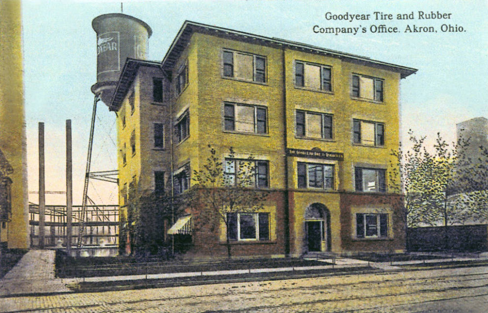 Goodyear Tire and Rubber Company's Office. Akron, Ohio.