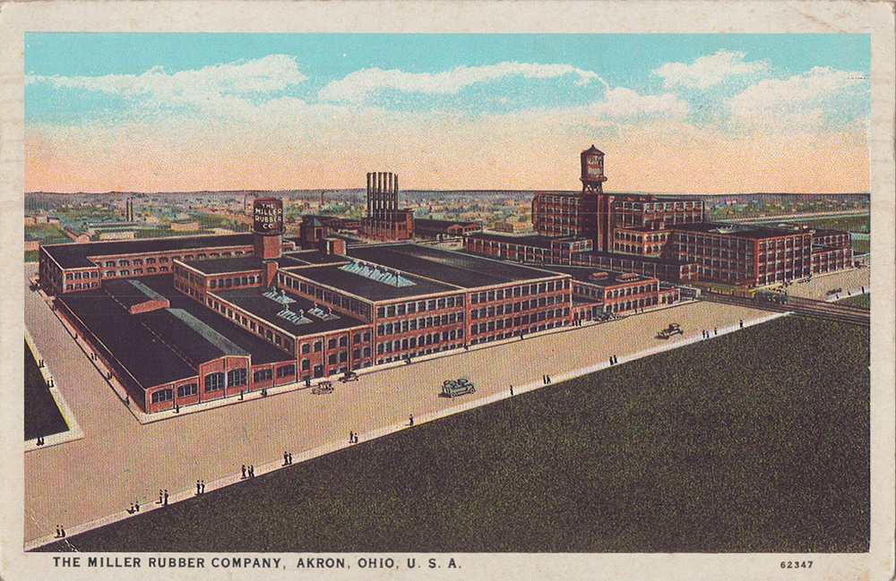 Miller Rubber Co Akron Postcards