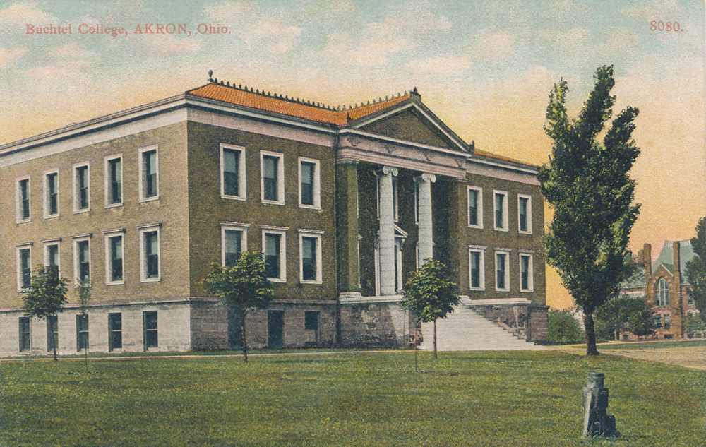 Buchtel College, Akron, Ohio