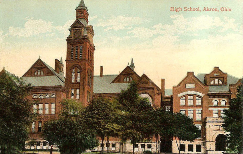 High School, Akron, Ohio