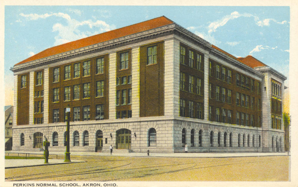 Perkins Normal School, Akron, Ohio