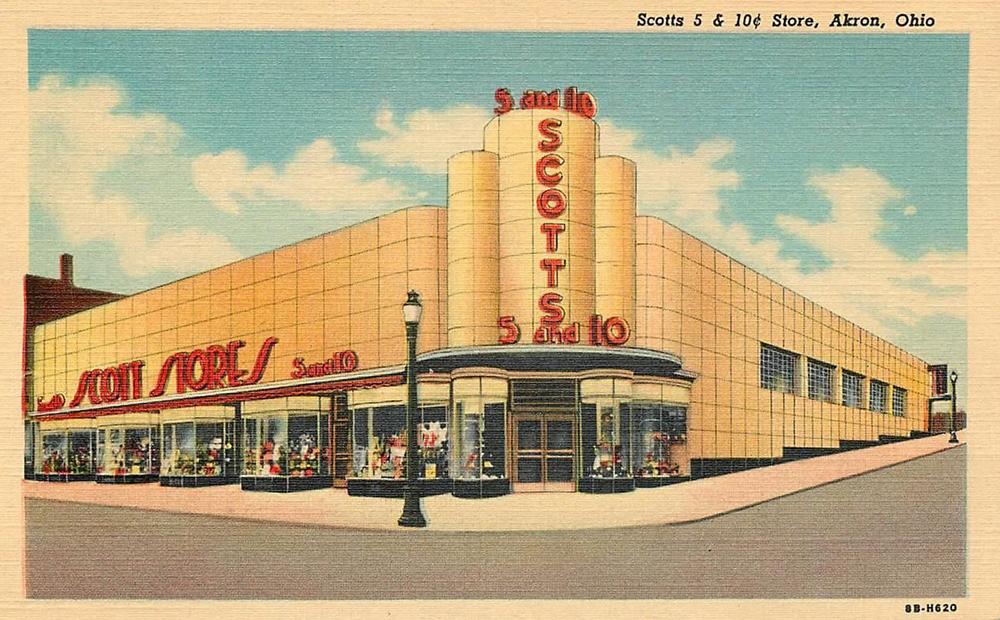 Scotts 5 & 10 Store, Akron, Ohio