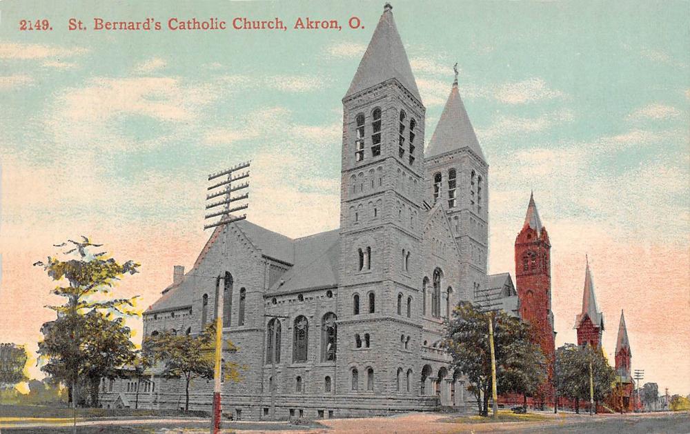 St. Bernards Church, Akron, Ohio