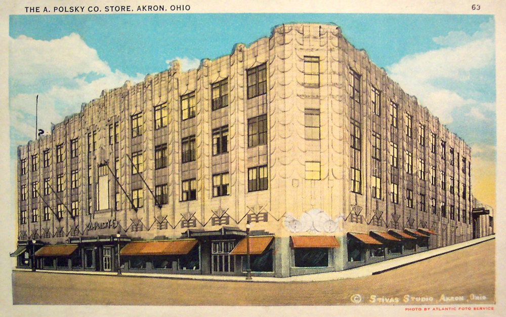 The A. Polsky Co. Store, Akron, Ohio