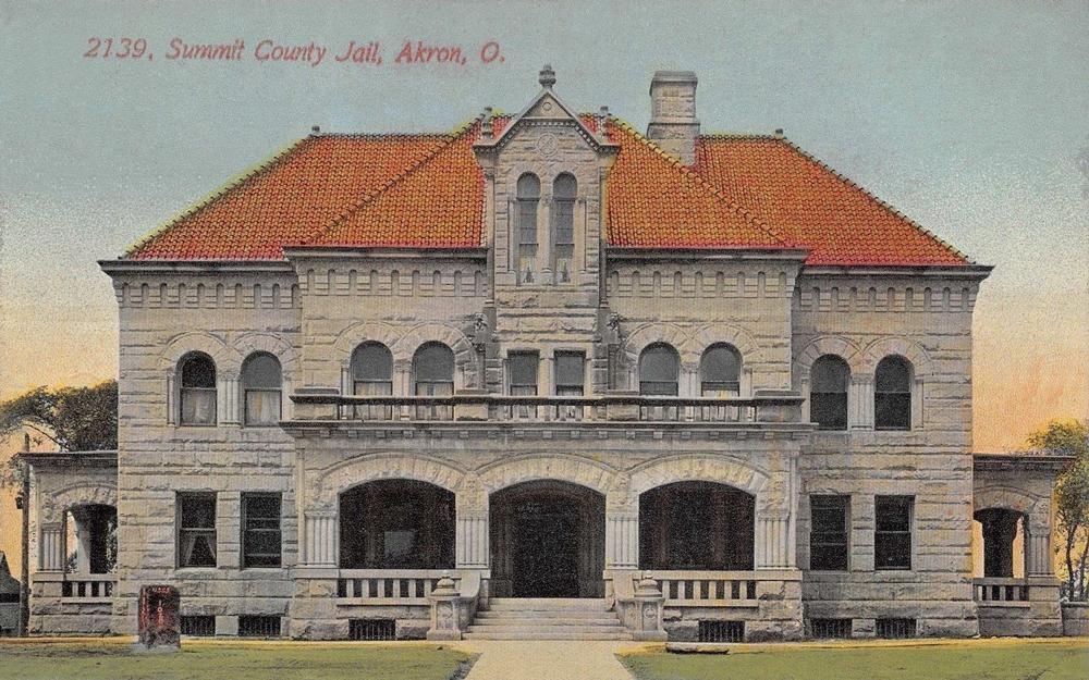 Summit County Jail, Akron, O.