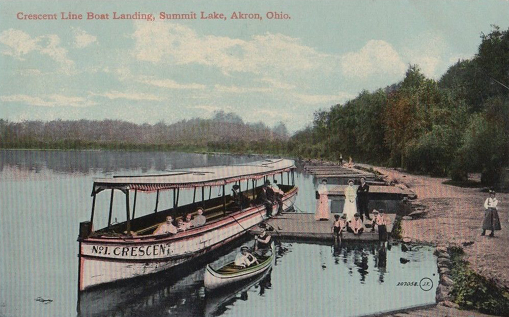 Crescent Line Boat Landing, Summit Lake, Akron, Ohio