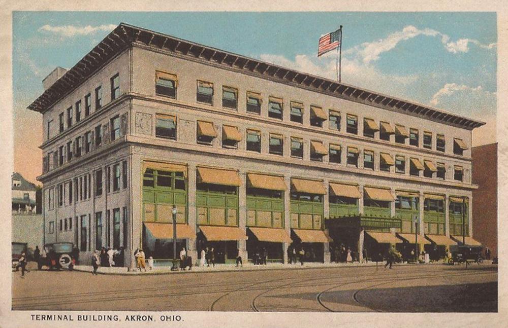 Terminal Building, Akron, Ohio